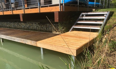 Replacement Jetty and Steps