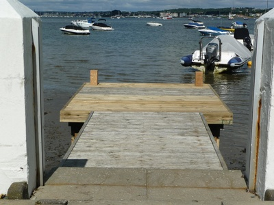 Timber replacement to an existing jetty