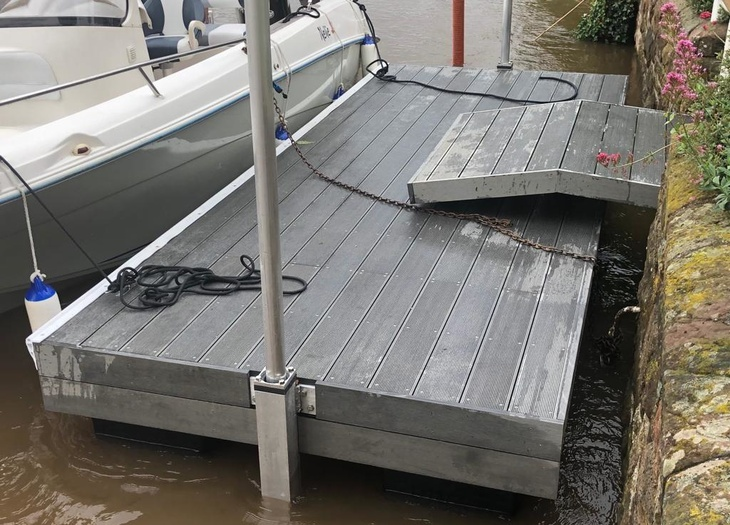 Replacement landing stage