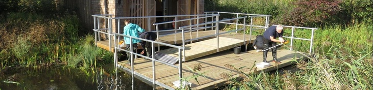 Ecology Pond Dipping Platform